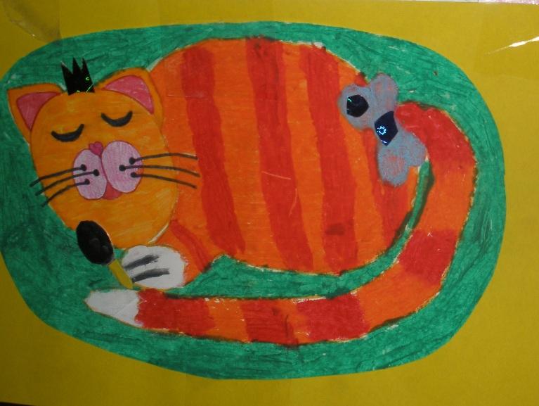 Детские рисунки кошек